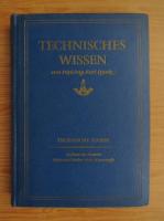 Anticariat: Technisches Wissen (volumul 1)