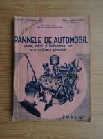Anticariat: Virgil Coman - Pannele de automobil (1947)