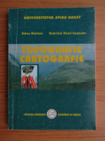 Anticariat: Anton Nastase - Topografie cartografie