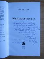 Anticariat: Daniel Piscu - Poemul lui Nokia (cu autograful autorului)