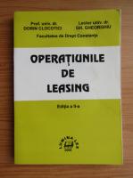 Anticariat: Dorin Clocotici - Operatiunile de leasing