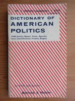 Anticariat: Edward Conrad Smith - Dictionary of american politics