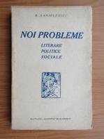 Anticariat: F. Sanielevici - Noi probleme literare, politice, sociale (1927)