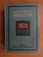 Anticariat: Henri Rogivue - Holtze's Worterbucher (1913)