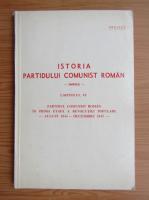 Anticariat: Istoria Partidului Comunist Roman, capitolul 6, august 1944-decembrie 1947