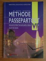 Anticariat: Jana Grosu - Methode passepartout. Manual de limba franceza pentru clasa a VI-a (2001)
