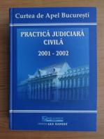 Anticariat: Practica judiciara civila 2001-2002