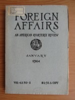 Anticariat: Revista Foreign Affairs, volumul 42, nr. 2, ianuarie1964
