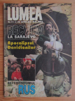 Anticariat: Revista Lumea, nr. 11, 29 aprilie-5 mai 1993
