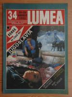 Anticariat: Revista Lumea, nr. 34, 20-26 august 1992