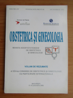 Anticariat: Revista Obstetrica si Ginecologia, volumul 54, nr. suplimentar, octombrie 2006