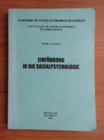 Tantau Rodica - Einfuhrung in die Sozialpsychologie