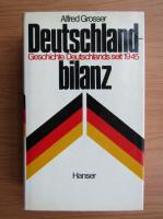 Anticariat: Alfred Grosser - Deutschland bilanz