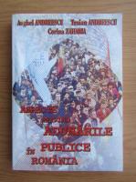 Anticariat: Anghel Andreescu, Traian Andreescu, Corina Zaharia - Aspecte privind adunarile publice in Romania