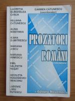 Carmen Catunescu - Prozatori romani
