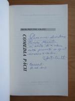 Anticariat: Constantin Dumitrescu Cunctator - Zbor printre gratii, volumul 3. Comedia pacii (cu autograful autorului)