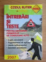 Anticariat: Dan Chiriac - Intrebari si teste pentru obtinerea permisului de conducere auto