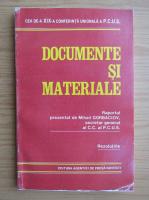 Anticariat: Documente si materiale. Raportul prezentat de Mihail Gorbaciov, secretar general al C.C. al P.C.U.S