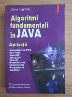 Anticariat: Doina Logofatu - Algoritmi fundamentali in JAVA