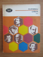 Anticariat: Eugen Lovinescu - Critice (volumul 2)