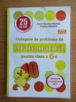 Ioana Monalisa Manea - Culegere de probleme de matematica pentru clasa a VI-a
