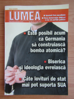 Revista Lumea, an XXIV, nr. 10 (307), 2018