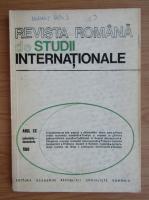 Anticariat: Revista Romana de Studii Internationale, anul XX, noiembrie-decembrie 1986