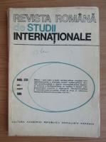 Anticariat: Revista Romana de Studii Internationale, anul XXII, iulie-august 1988