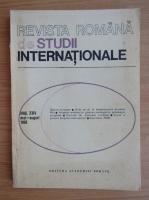 Anticariat: Revista Romana de Studii Internationale, anul XXIV, mai-august 1990