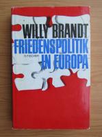 Anticariat: Willy Brandt - Friedenspolitik in Europa