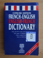 Anticariat: Concise edition French-English dictionary