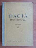 Anticariat: Dacia. Revue d'archeologie et d'histoire ancienne (volumul 10)