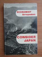 Anticariat: Economist Correspondents. Consider Japan