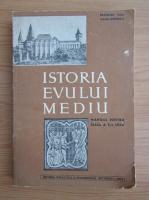 Anticariat: Francisc Pall - Istoria Evului Mediu. Manual pentru clasa a X-a (1967)