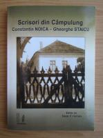 Ioan Craciun - Scrisori din Campulung. Constantin Noica si Gheorghe Staicu