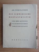 J. E. Forssander - Die schwedische bootaxtkultur (1933)