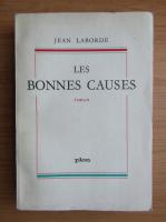 Anticariat: Jean Laborde - Les bonnes causes