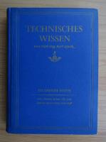 Anticariat: Karl Quak - Technisches Wissen (volumul 3)