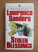 Anticariat: Lawrence Sanders - Stolen blessings