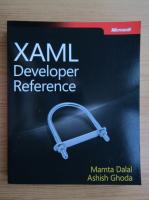 Anticariat: Mamta Dalal - XAML Developer Reference