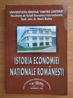 Marin Badea - Istoria economiei nationale romanesti