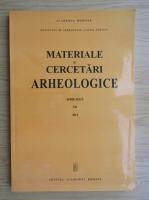 Anticariat: Materiale si cercetari arheologice (volumul 7)
