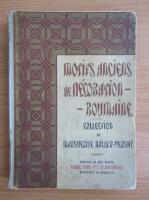 Motifs anciens de decoration-roumaine (1900)
