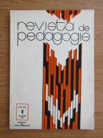 Anticariat: Revista de pedagogie, anul XXIII, nr. 1, ianuarie 1974