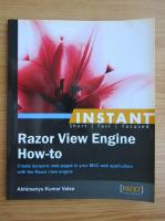 Anticariat: Abhimanyu Kumar Vatsa - Instant razor view engine how-to