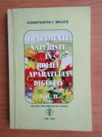 Anticariat: Constantin I. Milica - Tratamente naturiste in bolile aparatului digestiv (volumul 2)