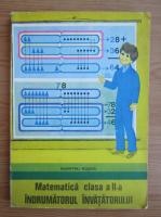 Anticariat: Dumitru I. Rosca - Matematica, clasa a II-a. Indrumatorul invatatorului (1981)