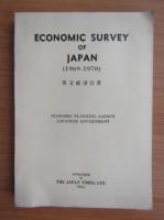 Anticariat: Economic survey of Japan 1969-1970