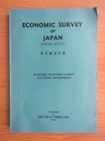 Anticariat: Economic survey of Japan 1970-1971