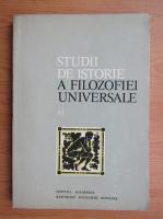 Anticariat: Florica Neagoe - Studii de istorie a filozofiei universale (volumul 6)